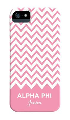 Alpha Phi Chevron iPhone Case Alpha Phi,My Style,sorority, Phi Sigma Sigma, Alpha Kappa Alpha Sorority, Gamma Phi Beta, Alpha Chi Omega, Theta, Sorority Life, Delta Zeta, Chevron Phone Cases, Cute Phone Cases