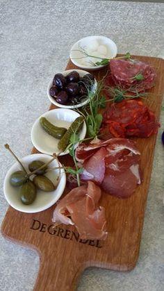 Vine & Dine tasting room platter