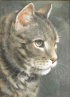 cat oil paintings - Google Search