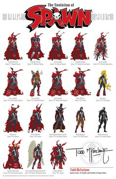 The Evolution of Spawn   Flickr - Photo Sharing!