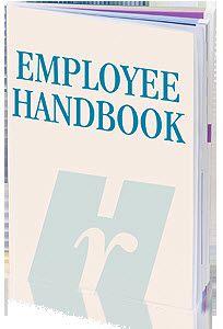 EmployeeHandbookJpg  Employee Handbook  Printables