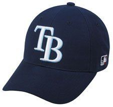 MLB ADULT Tampa Bay RAYS Home Navy Blue Hat Cap Adjustable Velcro TWILL by OC Sports Team MLB Outdoor Cap Co.. $9.35. We are your team supplier with team qtys available.  This our most popular style cap with a retail tag of $21.99 you can purchase for your team at a fraction of the price. -Available in Adult(over 12yrs) -Newest Style and Design -6 Panel Twill Construction -Raised 3-D Logo on Front -MLB Logo on side -Adjustable