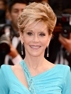 Actress Jane Fonda. Electrolux at Cannes 2013