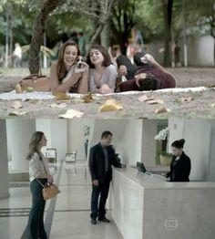 "Bolsa Doctor (tipo maleta) da Paloma, de ""Amor à Vida""."