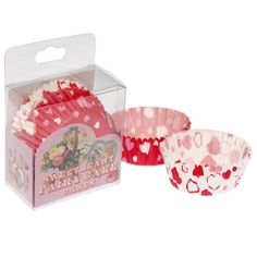Sweetheart Fairy Cake Cases - Pack of 72