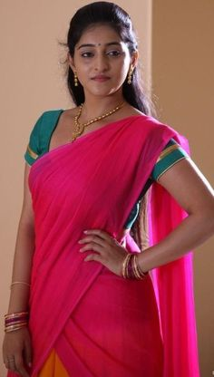 Half Saree, Sari, Girls, Fashion, Saree, Moda, Daughters, Fashion Styles, Fashion Illustrations