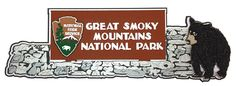 Paper Wizard - Die Cuts - Great Smoky Mountains Rock Sign at Scrapbook.com