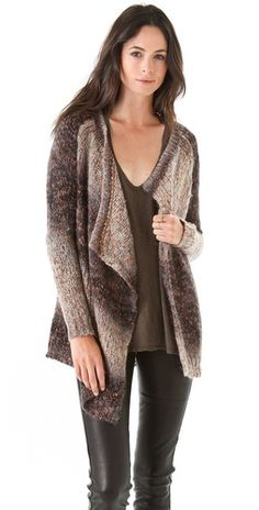 Graham & Spencer    Draped Cardigan Sweater  Style #:GANDS40033  $328.00