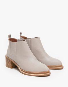 Eldin Ankle Boot in Grey