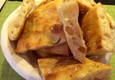 Pizza bianca romana come quella del fornaio con lievito madre