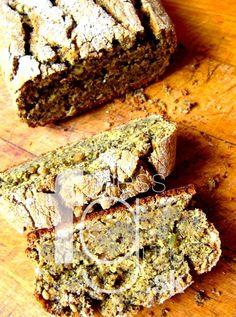 Nekysnutý celozrnný chlieb s makom a cmarom