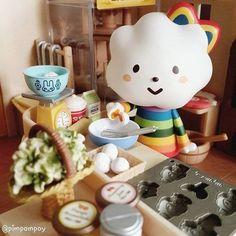 Let's make some cookies today!  Repost @Pimpompoy(Instagram)   http://fluffyhouse.bigcartel.com/  #fluffyhouse #repost #missrainbow #cookies #baking | 相片擁有者 fluffyhouse_silvia