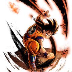 Goku Saiyan Saga render 13 - DB Legends by Maxiuchiha22 on DeviantArt