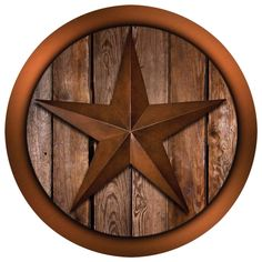 Western Star on Barnwood Coaster Set | Overstock.com Shopping - Great Deals on Coasters