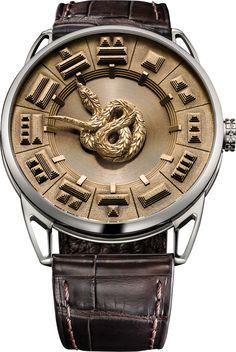 La Cote des Montres : La montre De Bethune DB25 Quetzalcoatl - Quetzalcoatl se love au gré du temps