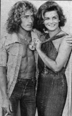 """Roger Daltrey and co-star; """"Tommy"""" Ann Margret"""