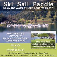 Lake Sonoma Resort Area