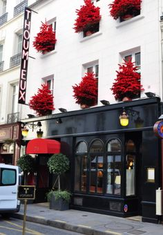 Thoumieux - Rue Saint Dominique Most Beautiful Cities, Wonderful Places, Saint Dominique, Christmas Trimmings, Storefront Signs, Hotel Restaurant, Space Interiors, Christmas Scenes, Paris Hotels