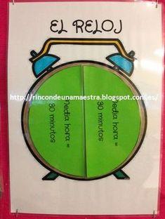 Hoy os enseño un material que he preparado para facilitar a mis alumnos el aprendizaje de las horas, tanto en el reloj analógico como en el ...