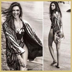 Deepika Padukone in Bikini, Filmfare cover shoot, Novem 2017 cover, MyFashgram