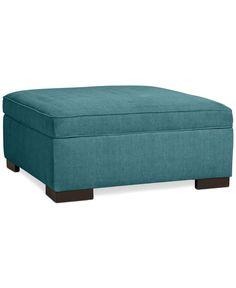 Radley Storage Ottoman: Custom Colors - Furniture - Macy's