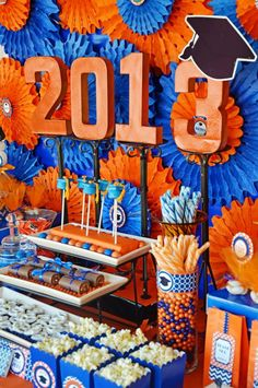 Perfect graduation party ideas for a boy!