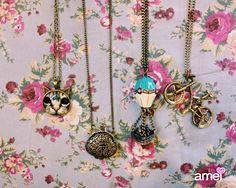Colares #lojaamei #muitoamor #acessorios #colares #fofos