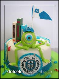 tarta monster university - Buscar con Google