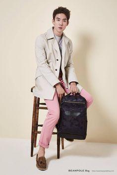 Yoo Yeon Seok for Beanpole Accessories S/S 2015 Seo Hyun Jin, Yoo Yeon Seok, Korean Actors, Stars, Coat, Accessories, Fashion, Moda, Sewing Coat
