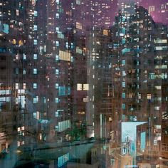 Billions, a series by Melbourne-based photographer Ward Roberts, captures the energy of bustling, urban Hong Kong in his boundless, twinkling captures of light, pattern and form.