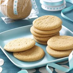Icebox Honey Cookies Recipe -My Grandma Wruble always had a batch of these cookies in the cookie jar and another roll in the refrigerator ready to slice and bake. Their honey and lemon flavor is delicious! —Kristi Gleason, Flower Mound, Texas