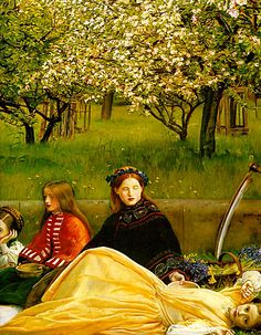 John Everett Millais - detail Spring