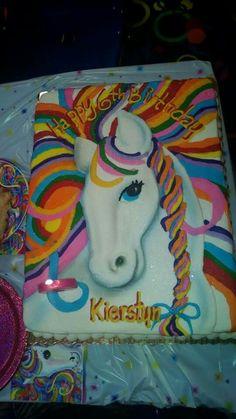 Rainbow unicorn sheet cake 3535 Rainbow unicorn Cake and
