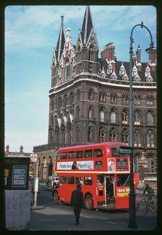 St. Pancras station 1961 via Olivia Brathwaite