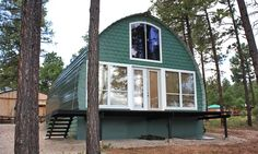 Prefabricated Arched Cabins can provide a warm home for under $10,000   Inhabitat - Green Design, Innovation, Architecture, Green Building