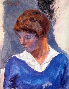 Pierre Bonnard — A Young girl, Pierre Bonnard