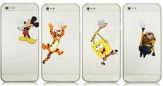 Cartoon Mickey Mouse Minion Tigger Snow White Ariel Case Phone iPhone 4 5 5C #UnbrandedGeneric