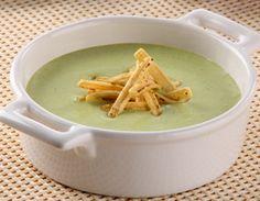 Crema de papa y cilantro, receta de Linda Brockmann.