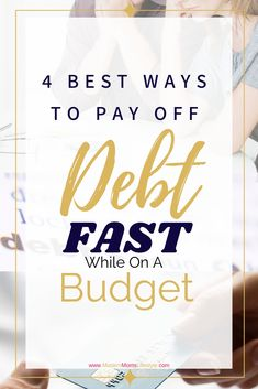 How to pay off debt while on a budget, tips to paying off debt fast! Money Tips, Money Saving Tips, Smart Method, Find Your Why, Internet Providers, Debt Payoff, Fix You, Successful People, Helping People