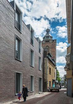 Dreessen Willemse adds a modern brick building to a historic Utrecht street   Dezeen   Bloglovin'
