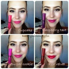 Beautywithemilyfox: NYX butter glosses + lip swatches!