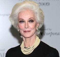 So glamorous! Love this old age look.