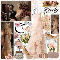 """Serena van der Woodsen (Blake Lively) Wedding Style ♥ Gossip Girl - G.G."" by sofifashion on Polyvore"