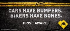 Utah Department of Public Safety: Motorcycle Safety Campaign, Bones, Public Road Safety.