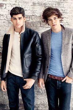 Harry & Zayn omg