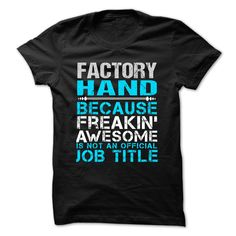 (Tshirt Awesome T-Shirt) Love being FACTORY-HAND Coupon Best Hoodies Tee Shirts