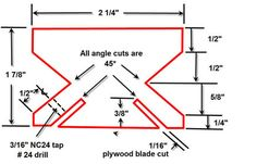 Jointer/planer Knife Sharpening Jig
