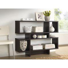 "125. Wholesale Interiors Baxton Studio Cassidy 35.25"" Bookcase"