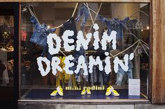 Denim Dreamin' at Nytorgsgatan, pinned by Ton van der Veer