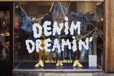 Denim Dreamin' at Nytorgsgatan, pinned by Ton van der Veer